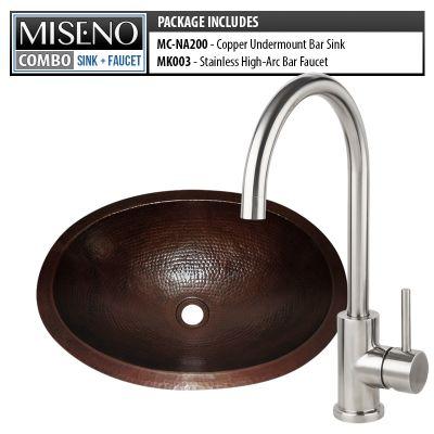Miseno Mc Na200 Mk003 B Hand Hammered Antique Copper Brushed