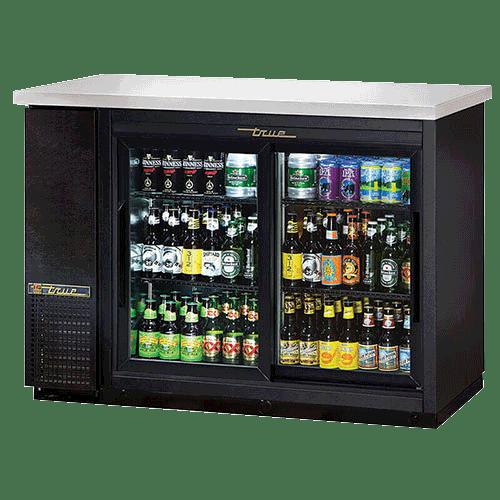 True Back Bar Refrigerator