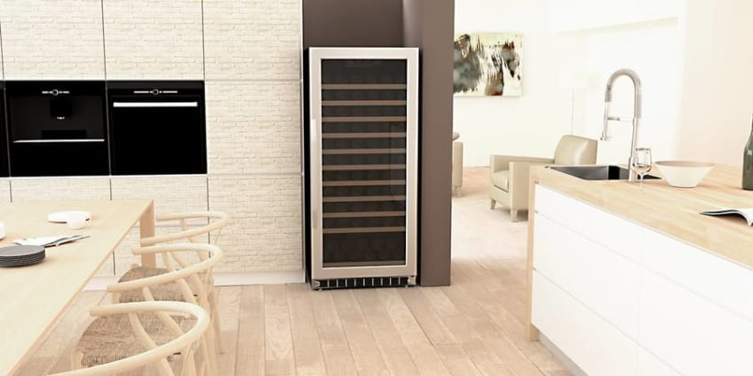 "121 Bottle 24"" Built-In Single Zone Wine Cooler"
