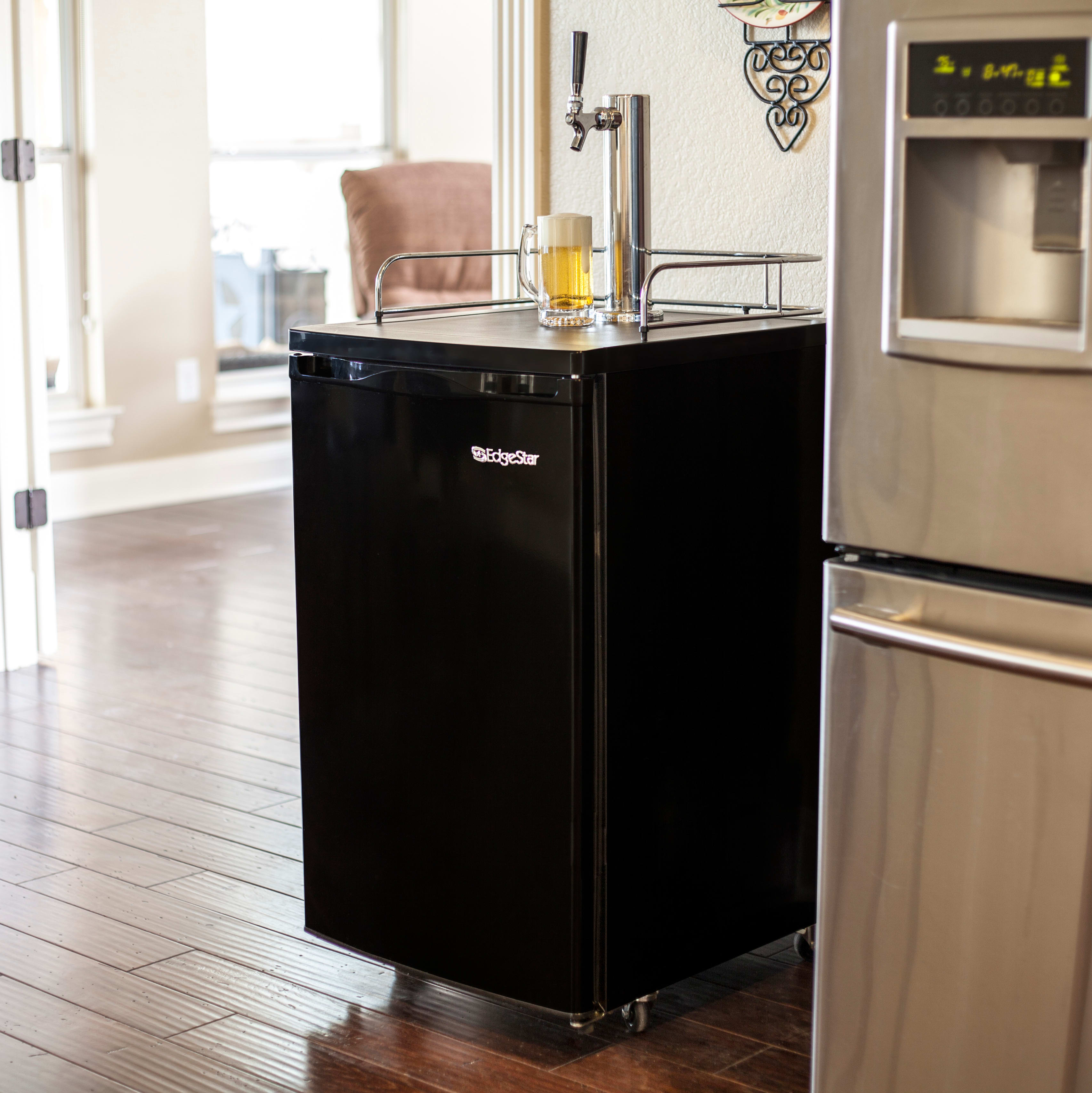 Commercial refrigerator for home use - Kegerators